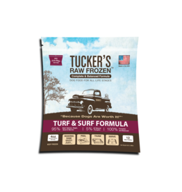 Tucker's Tucker's Raw Frozen Complete Turf & Surf Formula Dog Food 3lb
