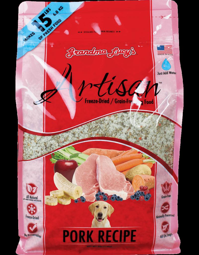 Grandma Lucy's Grandma Lucy's Artisan Pork Recipe Freeze-Dried Dog Food