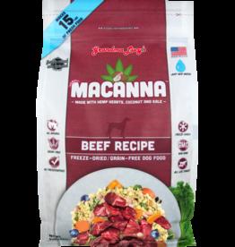 Grandma Lucy's Macanna Beef Recipe Freeze-Dried Dog Food