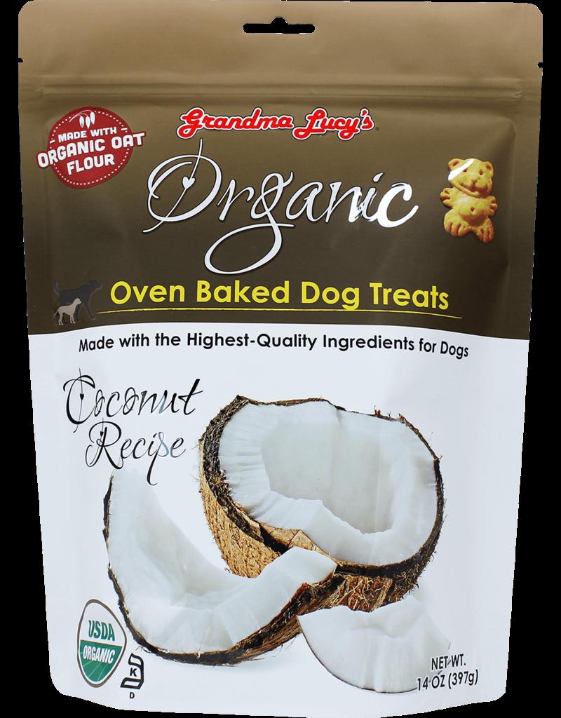 Grandma Lucy's Grandma Lucy's Organic Coconut Oven Baked Dog Treats 14oz
