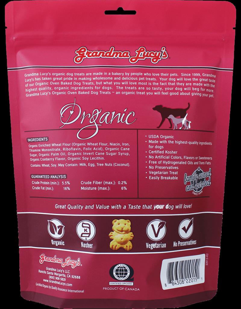 Grandma Lucy's Grandma Lucy's Organic Cranberry Oven Baked Dog Treats 14oz