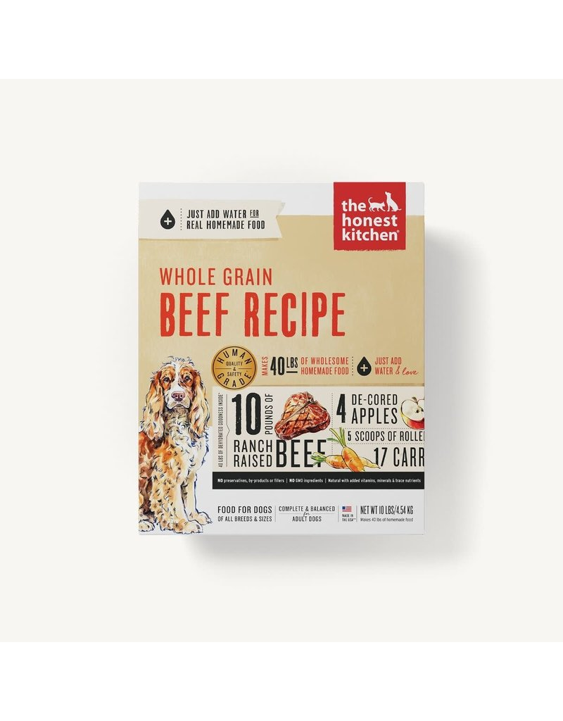 The Honest Kitchen The Honest Kitchen Whole Grain Beef Dehydrated Dog Food