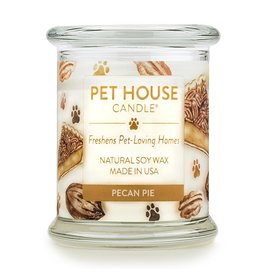 One Fur All Pet House Pecan Pie Natural Soy Candle 8.5oz Jar