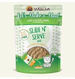Weruva Weruva Let's Make A Meal - Lamb & Mackerel Slide & Serve Pate Wet Cat Food 2.8oz Pouch