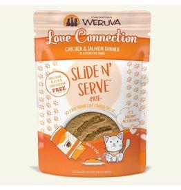 Weruva Weruva Love Connection - Chicken & Salmon Slide & Serve Pate Wet Cat Food 2.8oz Pouch