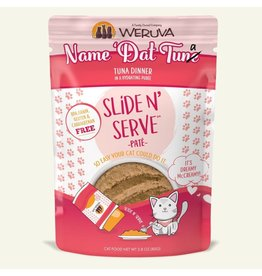 Weruva Weruva Name 'Dat Tuna - Tuna Dinner Slide & Serve Pate Wet Cat Food 2.8oz Pouch