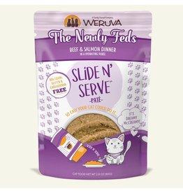 Weruva Weruva The Newly Feds - Beef & Salmon Dinner Slide & Serve Pate Wet Cat Food 2.8oz Pouch