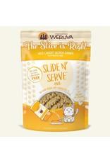 Weruva Weruva The Slice Is Right - Wild Caught Salmon Dinner Slide & Serve Pate Wet Cat Food 2.8oz Pouch