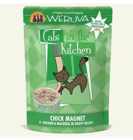 Weruva Weruva Chick Magnet - Chicken & Mackerel Dinner In Gravy Wet Cat Food 3.0oz Pouch