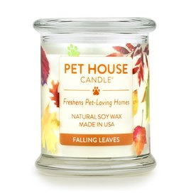 One Fur All Pet House Falling Leaves Natural Soy Candle 8.5oz Jar