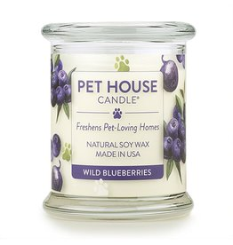 One Fur All Pet House Wild Blueberries Natural Soy Candle 8.5oz Jar