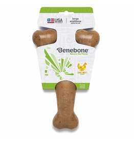 Benebone Benebone Wishbone Chicken Dog Chew Toy Large