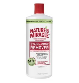 Nature's Miracle Enzymatic Formula Stain & Odor Remover for Dogs 32oz Pour Bottle