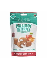 Complete Natural Nutrition Pill Buddy Naturals Peanut Butter & Apple Dog Treats 30 count