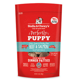 Stella & Chewy's Puppy Formula Beef & Salmon Freeze-Dried Dinner Patties Dog Food 14oz