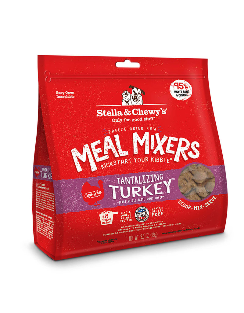 Stella & Chewy's Stella & Chewy's Tantalizing Turkey Freeze-Dried Raw Meal Mixer for Dogs