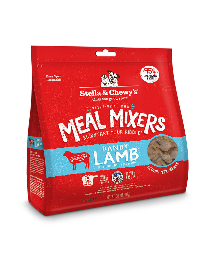 Stella & Chewy's Stella & Chewy's Dandy Lamb Freeze-Dried Raw Meal Mixer for Dogs