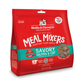 Stella & Chewy's Salmon & Cod Freeze-Dried Meal Mixer for Dogs More Choices Available