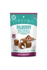 Complete Natural Nutrition Pill Buddy Naturals Grilled Duck Recipe Dog Treats 30 count
