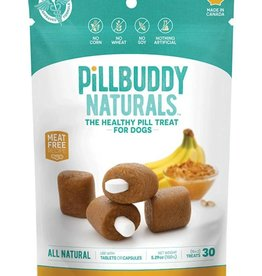 Complete Natural Nutrition Pill Buddy Naturals Peanut Butter & Banana Dog Treats 30 count