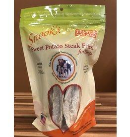 Snook's Sweet Potato Steak Fries Dog Chew Treats 10oz