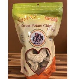 Snook's Sweet Potato Chips Dog Treats 8oz