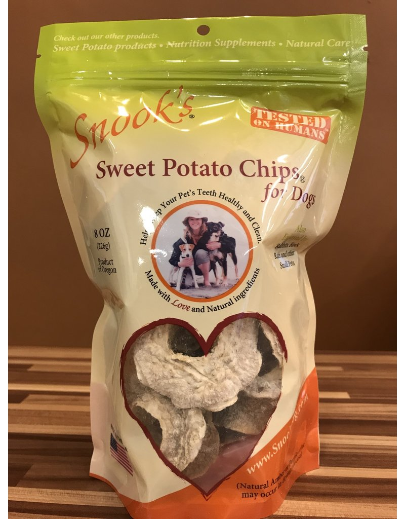 Snook's Snook's Sweet Potato Chips Dog Treats 8oz