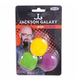 Jackson Galaxy Jackson Galaxy Cat Dice 3 pack Cat Toy