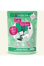 Weruva Weruva Meowiss Bueller - Chicken and Lamb Dinner Slide & Serve Pate Wet Cat Food 3.0oz Pouch