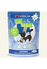 Weruva Weruva Cattyshack - Chicken and Shrimp Dinner Slide & Serve Pate Wet Cat Food 3.0oz Pouch