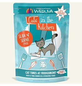 Weruva Weruva Cat Times at Fridgemont - Duck and Tuna Dinner Slide & Serve Pate Wet Cat Food 3.0oz Pouch