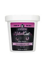 Vital Essentials Cat Raw Frozen Chicken 14oz Tub