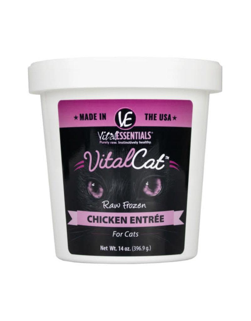 Vital Essentials Vital Essentials Cat Raw Frozen Chicken 14oz Tub