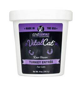Vital Essentials Vital Essentials Cat Raw Frozen Turkey 14oz Tub