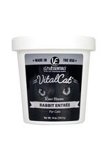 Vital Essentials Cat Raw Frozen Rabbit 14oz Tub