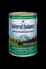Natural Balance Can Lamb and Rice 13oz