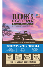 Tucker's Tucker's Raw Frozen Complete Turkey-Pumpkin Formula Cat Food 8oz