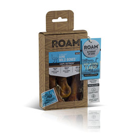 Roam Pet Treats Roam Gone Wild Ostrich Bone Dog Chews 3pk