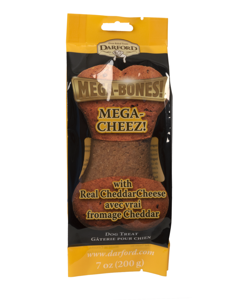 Darford Mega-Bones Cheese Flavor 1 Ct 7oz Dog Treat