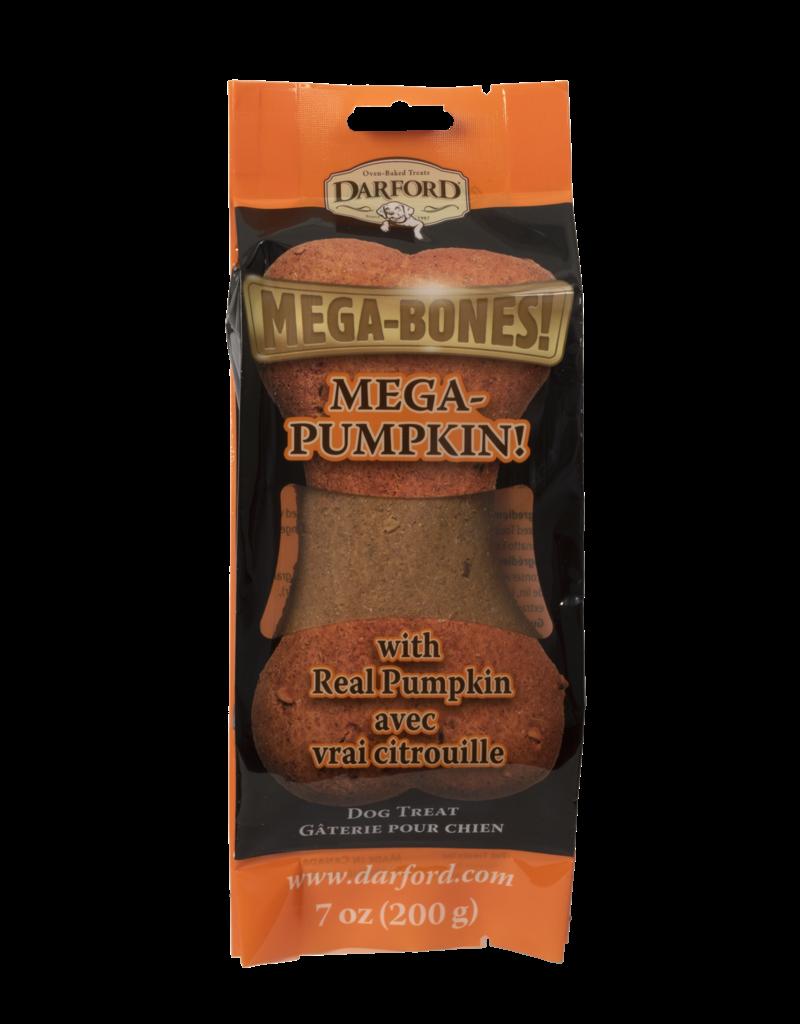 Darford Mega-Bones Pumpkin Flavor 1 Ct 7oz Dog Treat