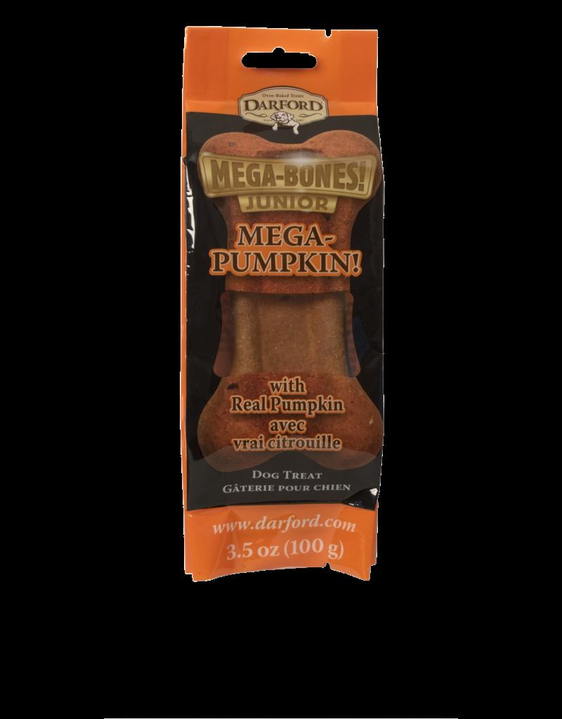 Darford Darford Mega-Bones Junior Pumpkin Flavor 1 Ct 3.5oz Dog Treat