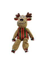 Kong Kong Floppy Knots Holiday Reindeer Large Dog Toy