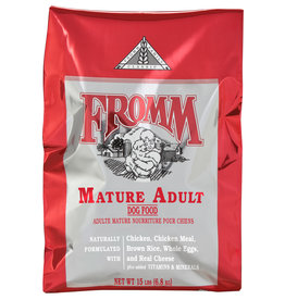 Fromm Family Foods Classic Mature Adult Dry Dog Food - More Choices Available