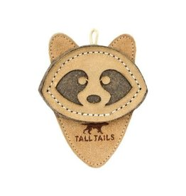 """Tall Tails Natural Scrappy Raccoon Dog Toy 4"""""""