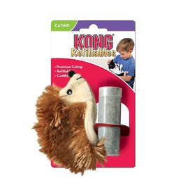 Kong Kong Refillable Hedgehog Catnip Cat Toy