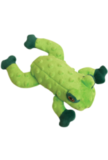 Snugarooz Snugarooz Lilly Frog Green Dog Toy 10""