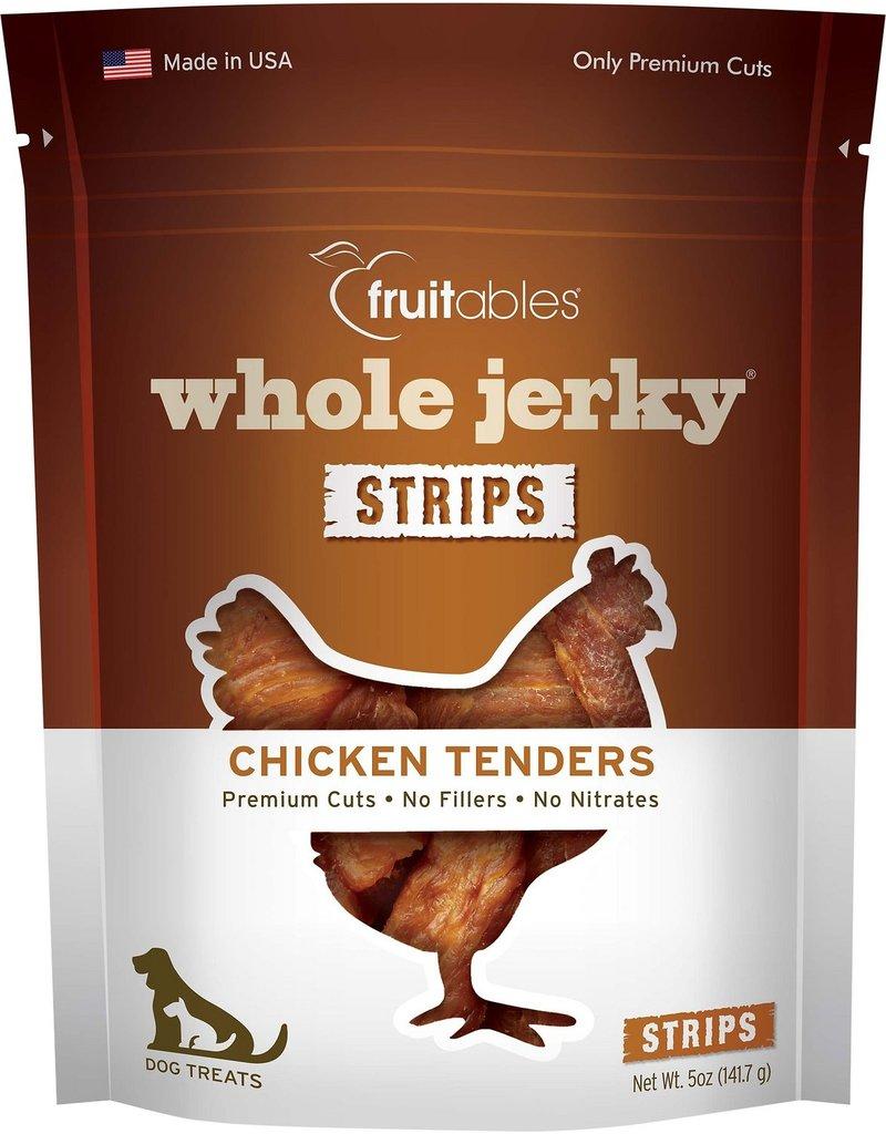 Fruitables Fruitables Whole Jerky Strips Chicken Tenders Dog Treats 5oz