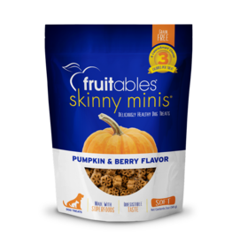 Fruitables Fruitables Skinny Mini Pumpkin & Berry Flavor Chewy Dog Treats 5oz