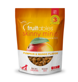 Fruitables Fruitables Skinny Mini Pumpkin & Mango Flavor Chewy Dog Treats 5oz