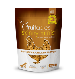 Fruitables Fruitables Skinny Mini Rotisserie Chicken Flavor Chewy Dog Treats 5oz